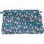 Pochette tissu fleuri nude ardoise - PPMC