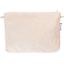 Pochette tissu  lin pailleté - PPMC