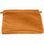 Pochette tissu paille dorée caramel - PPMC
