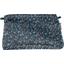 Pochette tissu paquerette marine - PPMC