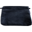 Coton clutch bag navy velvet - PPMC