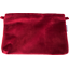 Coton clutch bag red velvet - PPMC