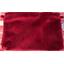 Estuche de tela grande  terciopelo rojo - PPMC