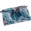 Mini pochette tissu feuillage marine - PPMC