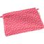 Mini pochette tissu feuillage or rose - PPMC