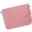 Tiny coton clutch bag dusty pink lurex gauze - PPMC