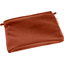 Mini pochette tissu gaze terracotta or - PPMC
