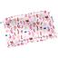 Mini pochette tissu herbier rose - PPMC