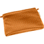 Mini pochette tissu paille dorée caramel - PPMC