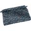 Mini pochette tissu paquerette marine - PPMC