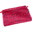 Mini pochette tissu pompons cerise - PPMC