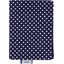 Card holder navy gold star