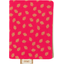 Porte carte feuillage or rose - PPMC
