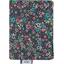Porte carte milli fleurs vert azur - PPMC