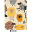 Card holder yellow sheep - PPMC