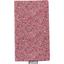Porte chéquier lichen prune rose - PPMC