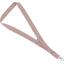 Porte-clés collier rayures cuivrées - PPMC