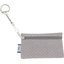 Keyring  wallet etoile or gris - PPMC