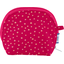 gusset coin purse fuchsia gold star - PPMC