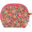 Porte-monnaie à soufflet floral pêche - PPMC