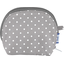 gusset coin purse light grey spots - PPMC