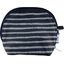 gusset coin purse striped silver dark blue - PPMC