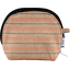 gusset coin purse bronze copper stripe  - PPMC