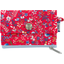 zipper pouch card purse cherry cornflower - PPMC
