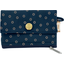 zipper pouch card purse bulle bronze marine - PPMC
