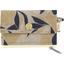 zipper pouch card purse citrons dorés - PPMC