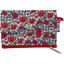 zipper pouch card purse poppy - PPMC