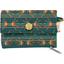 zipper pouch card purse eventail or vert - PPMC