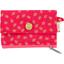 Mini pochette porte-monnaie feuillage or rose - PPMC