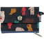 zipper pouch card purse grizzly