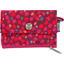 zipper pouch card purse pompons cerise - PPMC
