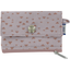 zipper pouch card purse triangle cuivré gris - PPMC