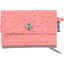 zipper pouch card purse triangle or poudré