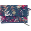 zipper pouch card purse tropical fire - PPMC