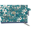 zipper pouch card purse celadon violette - PPMC