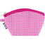Coin Purse fuschia gingham - PPMC