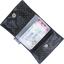 Porte multi-cartes etoile or marine