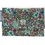 caja de tarjeta de banco flor mentolada - PPMC