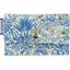 Porte multi-cartes forêt bleue - PPMC
