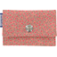 Porte multi-cartes mini fleur rose - PPMC