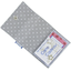 Porte multi-cartes pois gris clair