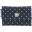 Multi card holder navy blue spots - PPMC