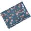Compact wallet fleuri nude ardoise - PPMC