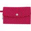 Wallet etoile or fuchsia - PPMC