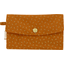 Wallet caramel golden straw - PPMC