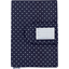 Health book cover navy blue spots